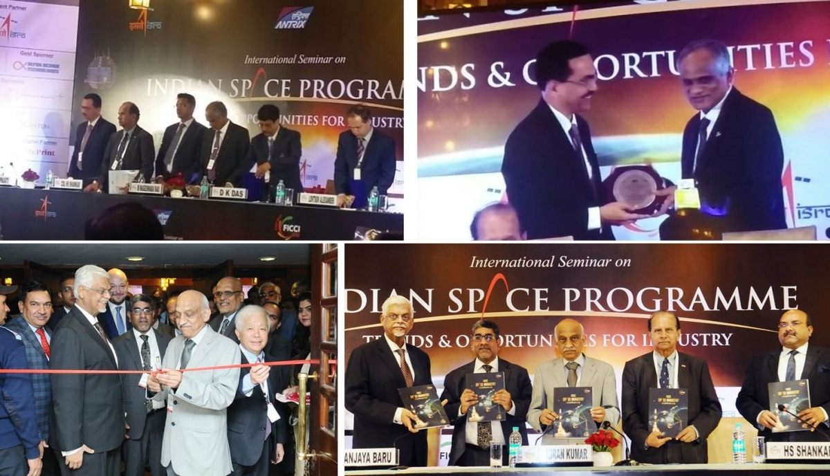 Centum participated in the International Seminar on Indian Space Programme