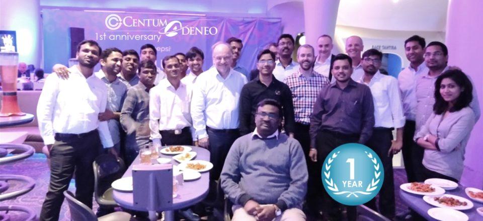 Centum Adeneo celebrates its first anniversary of design center in bangalore