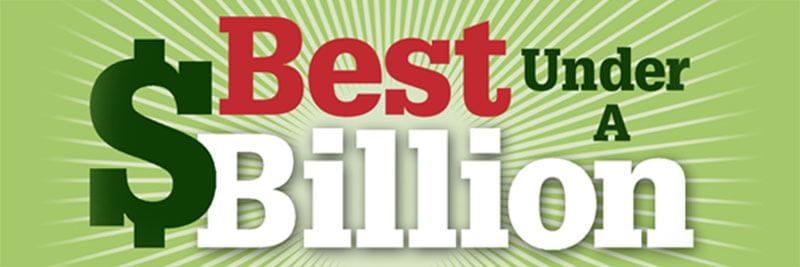 Centum listé dans Forbes, catégorie 200 Best Under the Billion (BUB) en Asie.