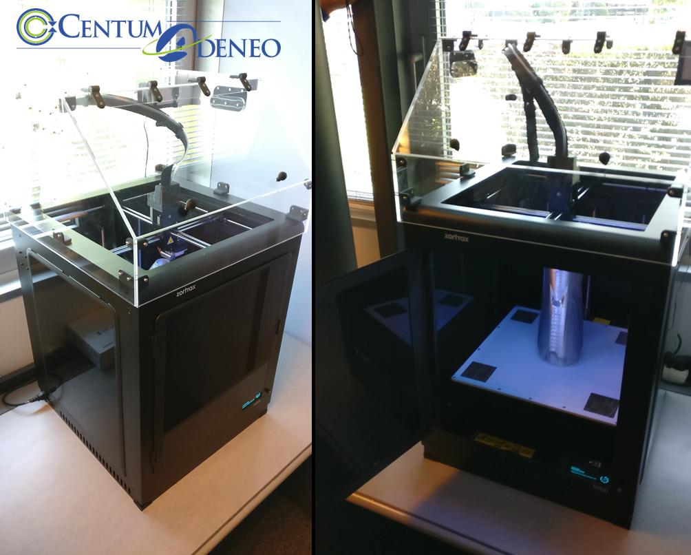 Acquisition d'une imprimante 3D