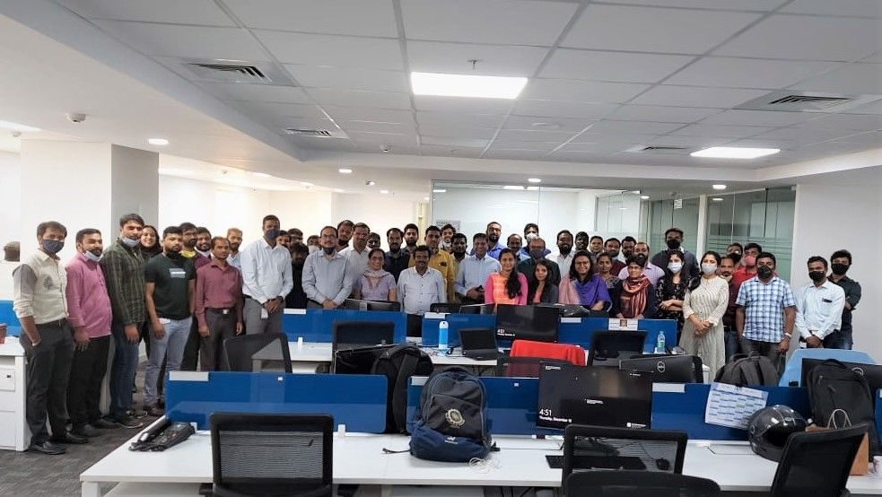Inauguration of a dedicated lab at Centum Adeneo India