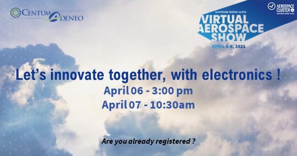 Virtual Aerospace Show – 06 au 08 avril 2021